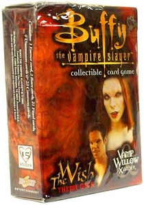 Buffy the Vampire Slayer Card Game Class of '99 The Wish Theme Deck Vamp Willow & Xander