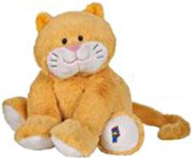 Webkinz Jr. Plush Orange Kitty