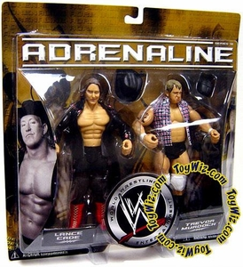 WWE Jakks Pacific Wrestling Adrenaline Series 18 Action Figure 2-Pack Lance Cade & Trevor Murdock