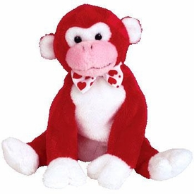 Ty Beanie Baby Valentine the Monkey