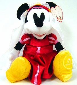 Disney Exclusive 8 Inch Mini Plush Minnie Mouse [Valentine's Day Plush]