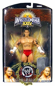 WWE Wrestlemania 24 Exclusive Series 2 Action Figure CM Punk