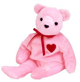 Ty Beanie Baby Internet Exclusive Smooch-e the Bear