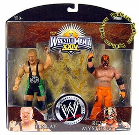 WWE Wrestlemania 24 Exclusive Series 2 Action Figure 2-Pack Finlay & Rey Mysterio