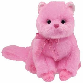 Ty Beanie Baby Pinkys Taffeta the Cat