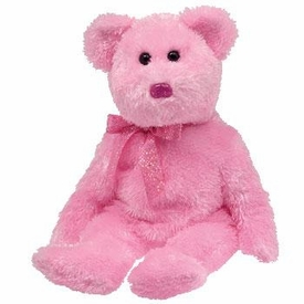 Ty Beanie Baby Pinkys Dazzler the Bear