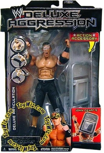WWE Jakks Pacific Wrestling DELUXE Aggression Series 5 Action Figure John Cena