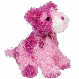 Ty Beanie Baby Pinkys Glitters the Dog