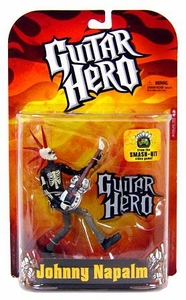 McFarlane Toys Guitar Hero Action Figure Johnny Napalm [Skeleton Variant]