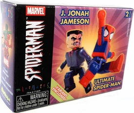 Marvel MiniMates Series 7 J. Jonah Jameson & Ultimate Spider-Man