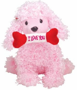 Ty Beanie Baby Pup-In-Love the Pink Poodle