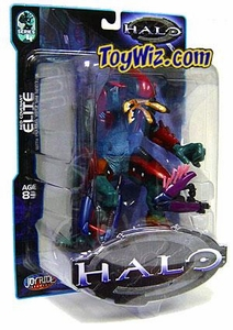 Halo Action Figure Series 4 Red Elite [Plasma Rifle & Needler]