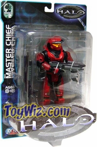 Halo Action Figure Series 2 Master Chief (Red)