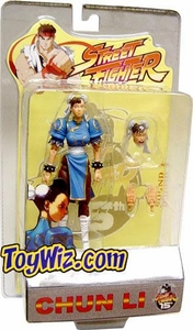 Sota Toys Street Fighter Series 1 Action Figure Chun-Li [Blue]