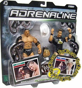WWE Jakks Pacific Wrestling Adrenaline Series 16 Action Figure 2-Pack Batista Vs. JBL