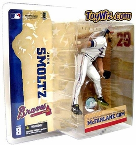 McFarlane Toys MLB Sports Picks Series 8 Action Figure John Smoltz (Atlanta Braves)