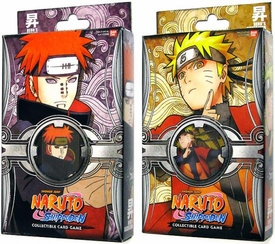 Naruto Shippuden Card Game Heros Ascension Set of Both Theme Decks [Pain's Invasion & Myoboku's Army]