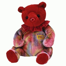 Ty Beanie Baby July the Birthday Bear