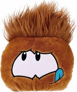 Disney Club Penguin 8 Inch JUMBO Puffle Plush Brown {RANDOM Facial Expression!} [Includes Coin with Code!]