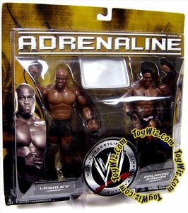 WWE Jakks Pacific Wrestling Adrenaline Series 18 Action Figure 2-Pack Orlando Jordan & Bobby Lashley