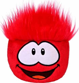 Disney Club Penguin 8 Inch JUMBO Puffle Plush Red {RANDOM Facial Expression!} [Includes Coin with Code!]