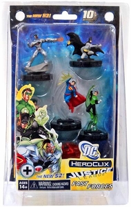 Justice League New 52 Heroclix Fast Forces Game [6 Figures]