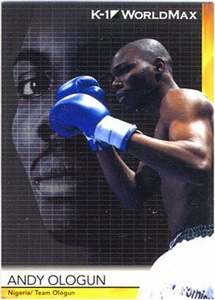 Epoch MMA K-1 World GP Trading Card #47 Andy Ologun