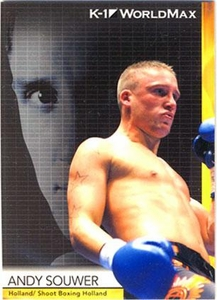 Epoch MMA K-1 World GP Trading Card #36 Andy Souwer