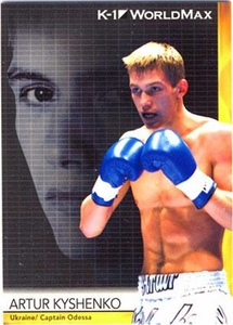 Epoch MMA K-1 World GP Trading Card #34 Artur Kyshenko