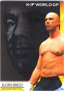 Epoch MMA K-1 World GP Trading Card #33 Bjorn Bregy