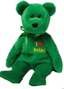 Ty Beanie Baby I Love Ireland the Bear
