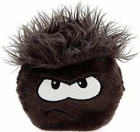 Disney Club Penguin 6 Inch DELUXE Plush Puffle Black [Includes Coin with Code!]