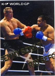 Epoch MMA K-1 World GP Insert Card BW15 Best Bout Semmy Schilt vs. Ray Sefo