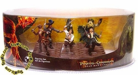 Disney Pirates of the Caribbean Dead Man's Chest Movie Exclusive 6 Piece PVC Mini Figure Collector Set