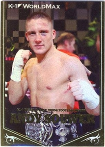 Epoch MMA K-1 World GP Insert Card CM01 Foil Card Andy Souwer