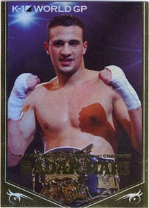 Epoch MMA K-1 World GP Insert Card CW01 Foil Card Badar Hari