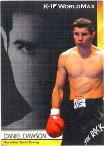 Epoch MMA K-1 World GP Trading Card #56 Daniel Dawson