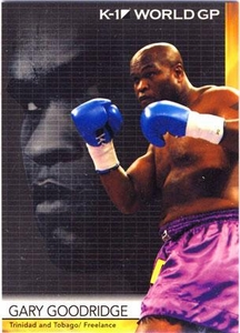Epoch MMA K-1 World GP Trading Card #25 Gary Goodridge