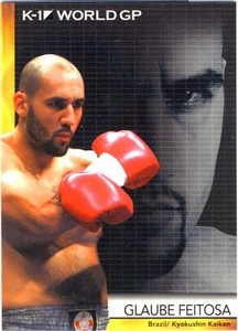 Epoch MMA K-1 World GP Trading Card #02 Glaube Feitosa