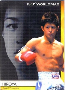 Epoch MMA K-1 World GP Trading Card #42 Hiroya
