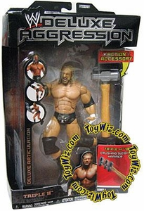 WWE Wrestling DELUXE Aggression Series 1 Action Figure Triple H