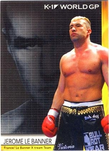 Epoch MMA K-1 World GP Trading Card #30 Jerome Le Banner