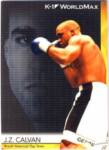 Epoch MMA K-1 World GP Trading Card #57 J.Z. Calvan