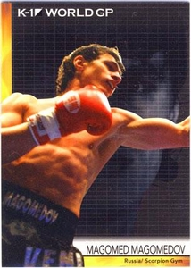 Epoch MMA K-1 World GP Trading Card #28 Magomed Magomedov
