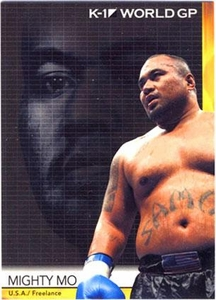 Epoch MMA K-1 World GP Trading Card #12 Mighty Mo