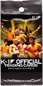 Epoch MMA K-1 World GP Trading Card Pack