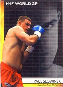 Epoch MMA K-1 World GP Trading Card #11 Paul Slowinski