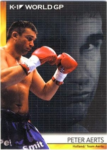Epoch MMA K-1 World GP Trading Card #09 Peter Aerts