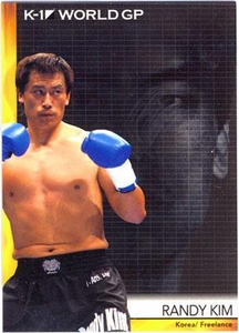 Epoch MMA K-1 World GP Trading Card #13 Randy Kim