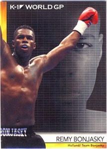 Epoch MMA K-1 World GP Trading Card #14 Remy Bonjasky